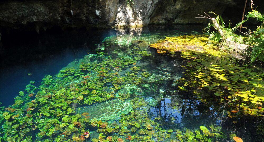 Podvodní jeskyně Sac Actun