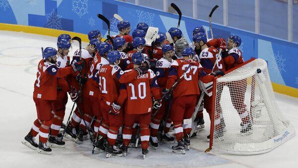 Zápas Česka a Kanady - Sputnik Česká republika