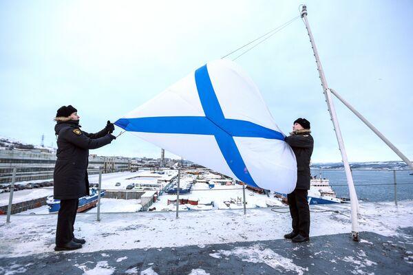 Když má flotila takovou letadlovou loď, je čemu závidět - Sputnik Česká republika