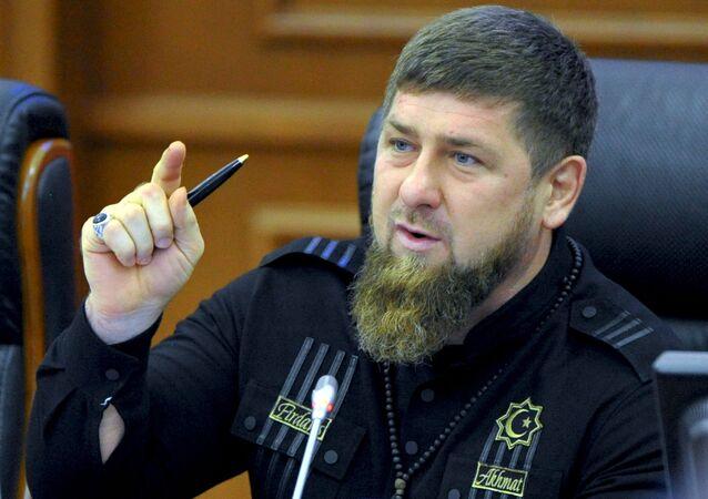 Hlava Čečenské republiky Ramzan Kadyrov