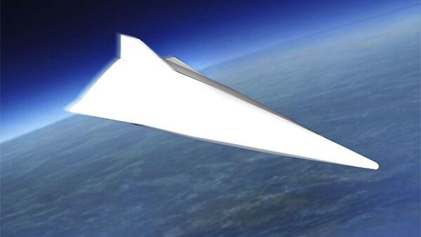 Jeden z návrhů čínského bezpilotního hypersonického vojenského letounu - Sputnik Česká republika
