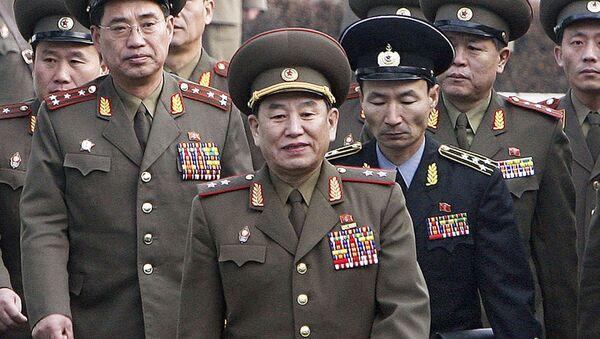 Vedoucí delegace KLDR, generál Kim Jong-čchol - Sputnik Česká republika