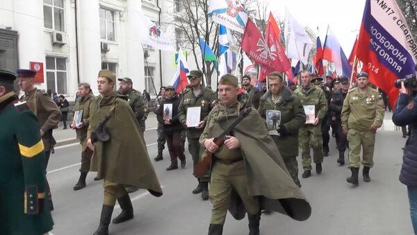 Historické rozhodnutí: Sevastopol si připomněl, jak odmítl uznání státního převratu na Ukrajině - Sputnik Česká republika