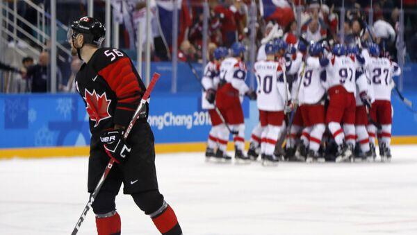 Hokej. Česko - Kanada - Sputnik Česká republika
