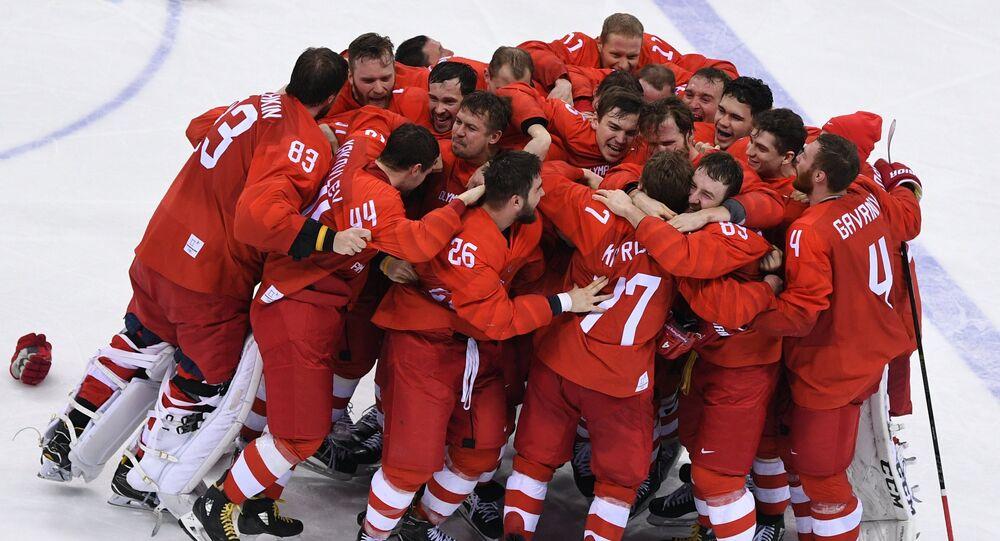 Ruský hokejový tým
