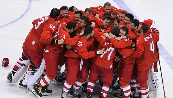 Ruský hokejový tým - Sputnik Česká republika