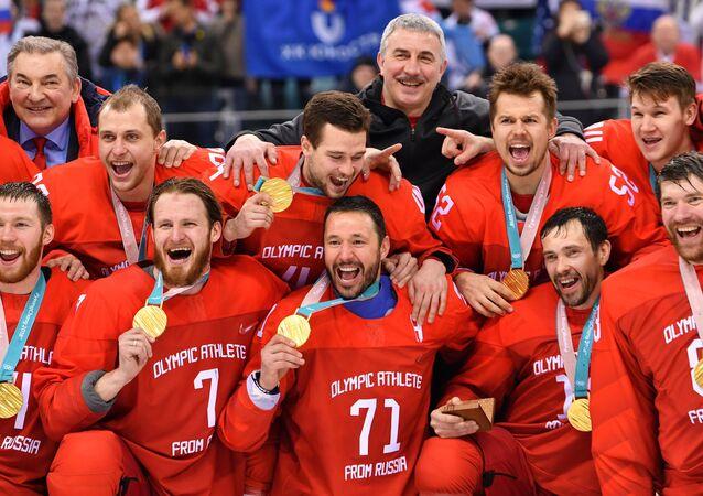Vítězství ruského hokeje na ZOH-2018