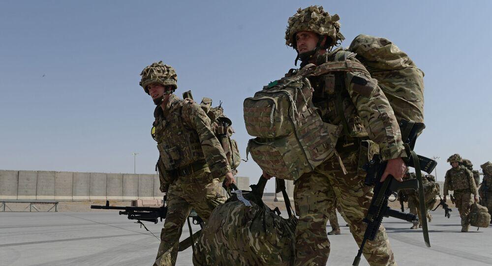 Britští vojáci v Afghánistánu