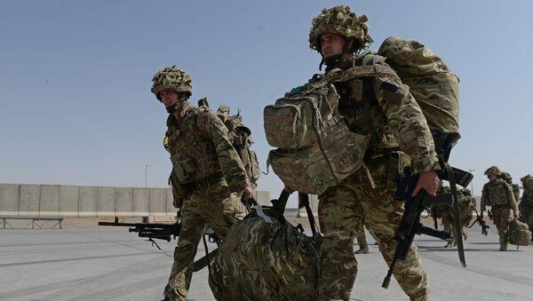 Britští vojáci v Afghánistánu - Sputnik Česká republika