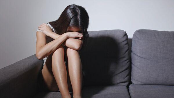 Žena pláče - Sputnik Česká republika