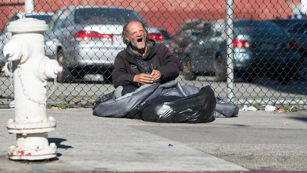 Bezdomovectví. Ilustrační foto - Sputnik Česká republika