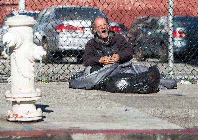 Bezdomovectví. Ilustrační foto