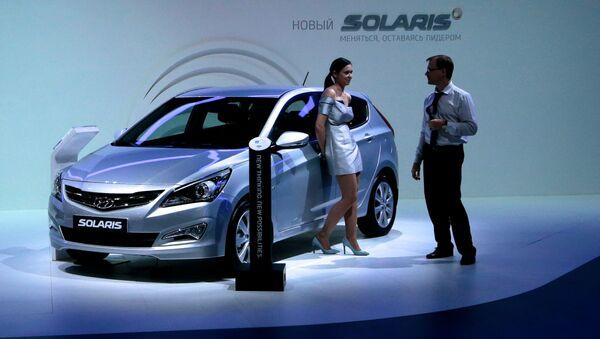 Hyundai Solaris - Sputnik Česká republika