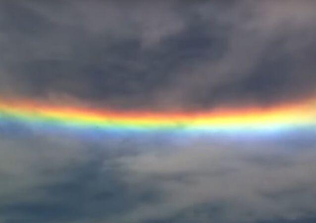 V brazilském státě Santa Catarina se objevil halový optický jev