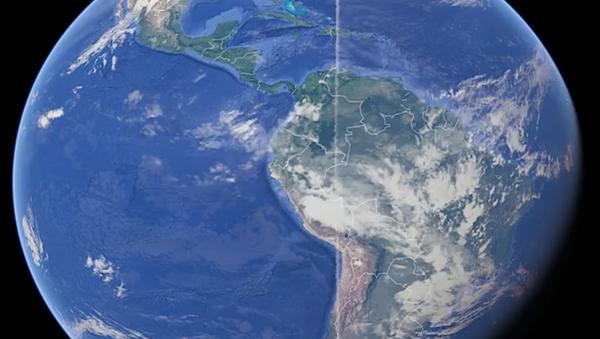 Na snímcích Google Earth nalezli záhadnou čáru kolem Země - Sputnik Česká republika