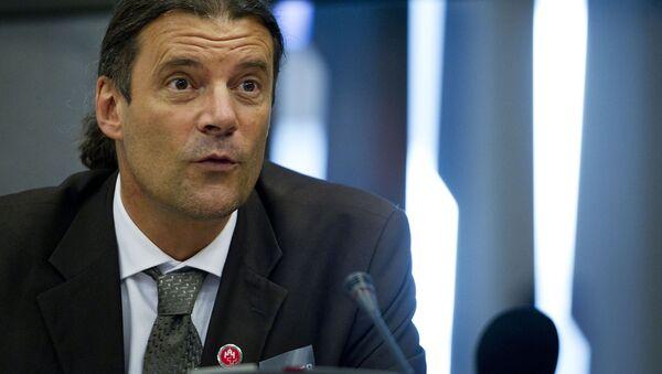 Viceprezident Švýcarské lidové strany Oscar Freisinger - Sputnik Česká republika