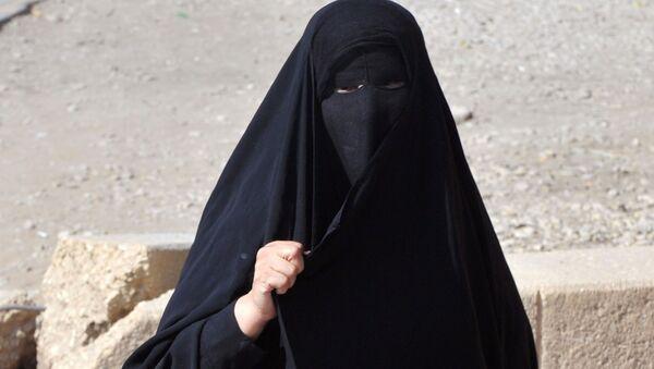 Žena v Saúdské Arábii - Sputnik Česká republika