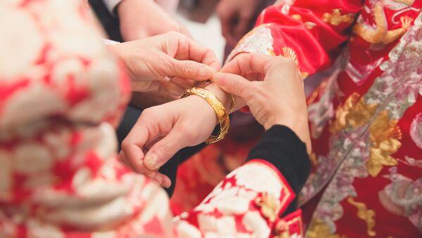 Svatba v Číně - Sputnik Česká republika