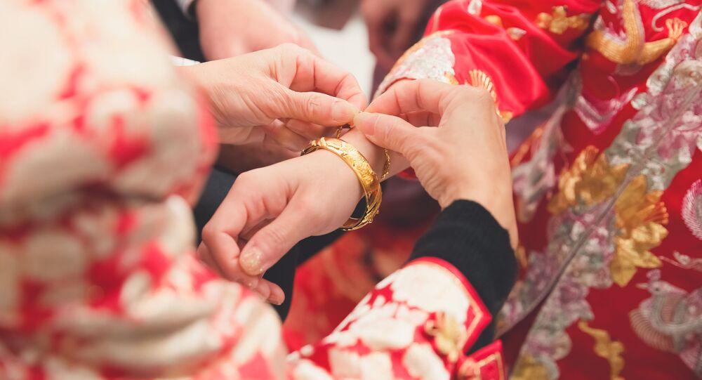 Tradiční čínská svatba
