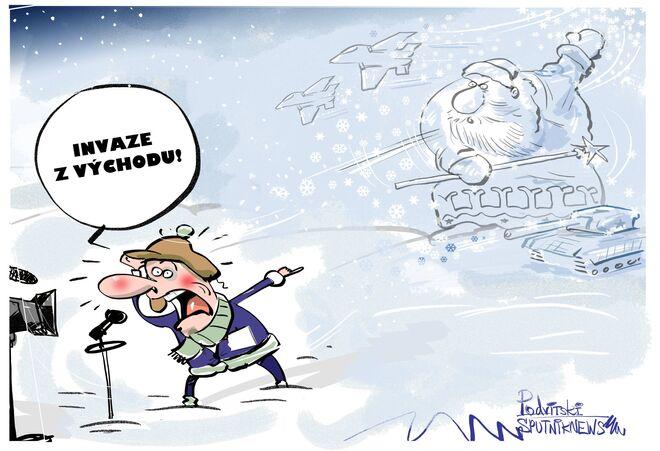 Evropané věří na ruského Mrazíka