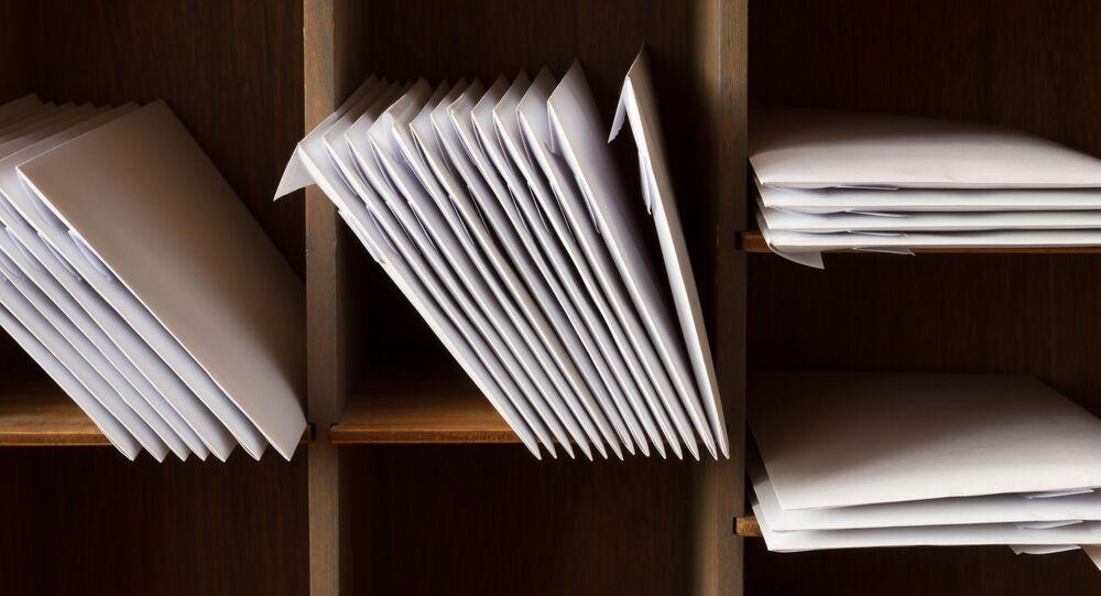 Dopisy. Ilustrační foto