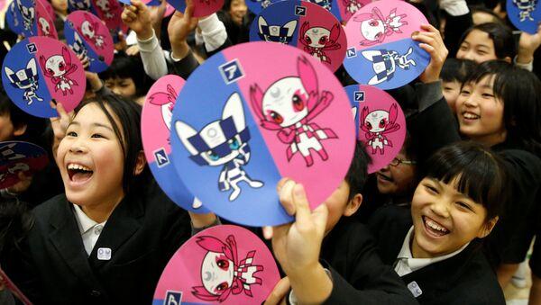 Japonsko vybralo symboly pro Olympijské hry v Tokiu - Sputnik Česká republika