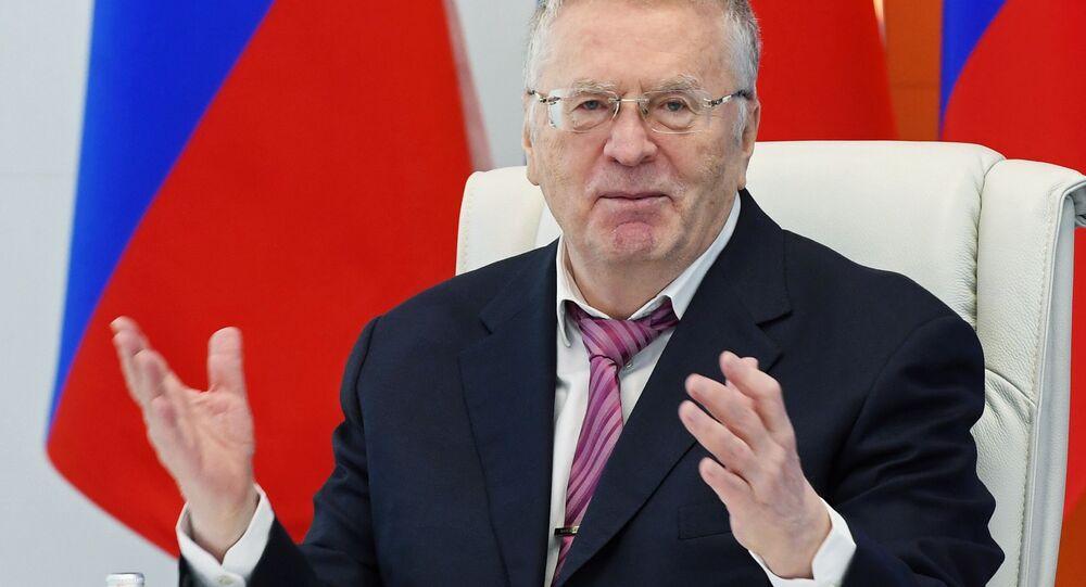 Kandidáti na prezidenta. Vladimir Žirinovskij