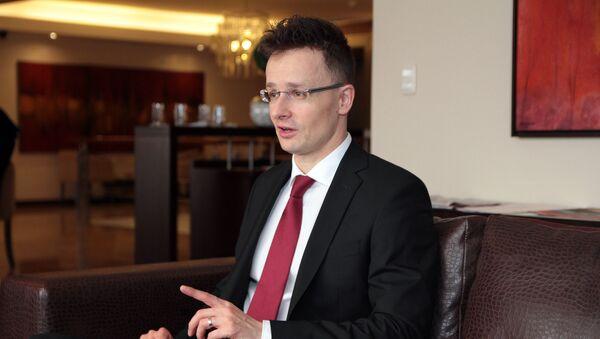 Péter Szíjjartó - Sputnik Česká republika