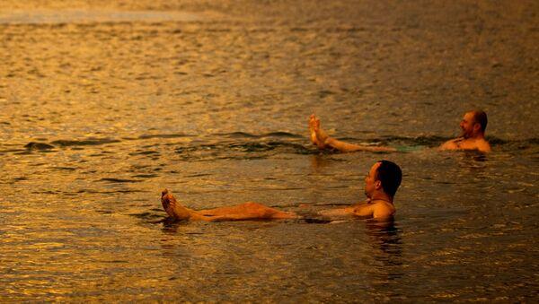 Mizící Mrtvé moře - Sputnik Česká republika