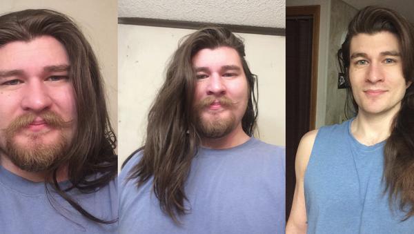 Uživatel Reddit zhubnul 34 kilo a teď vypadá jako oživlý Disney Princ - Sputnik Česká republika