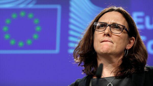 Evropská komisařka pro obchod Cecilia Malmströmová - Sputnik Česká republika