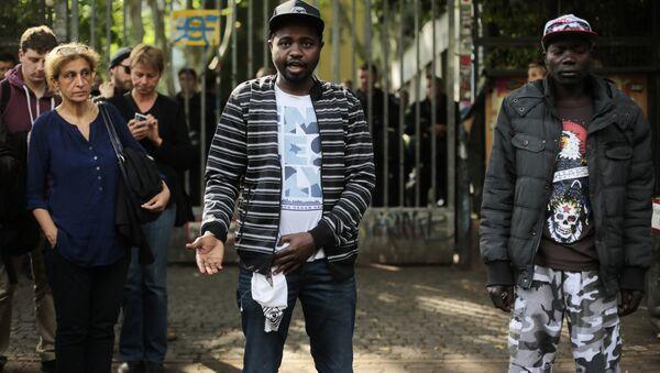 Migranti v Berlíně. Ilustrační foto - Sputnik Česká republika