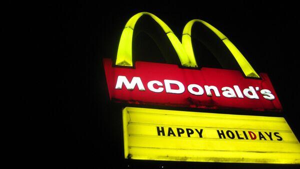 McDonalds ilustrační foto - Sputnik Česká republika