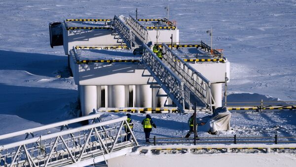 Budování podniku na výrobu zkapalněného plynu Jamal SPG - Sputnik Česká republika