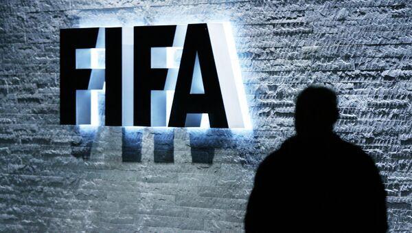 Logotyp FIFA - Sputnik Česká republika