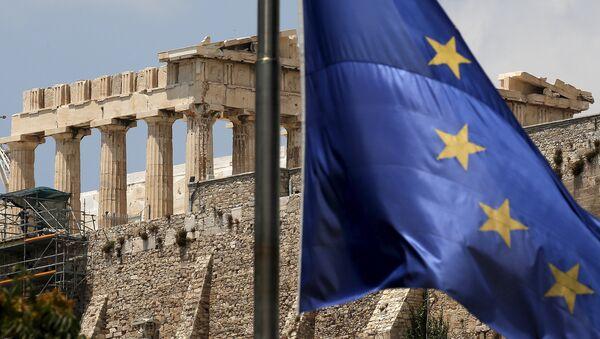 Athény, pohled na Akropolis - Sputnik Česká republika