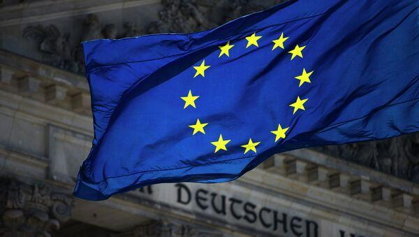 Vlajka EU v Berlíně - Sputnik Česká republika