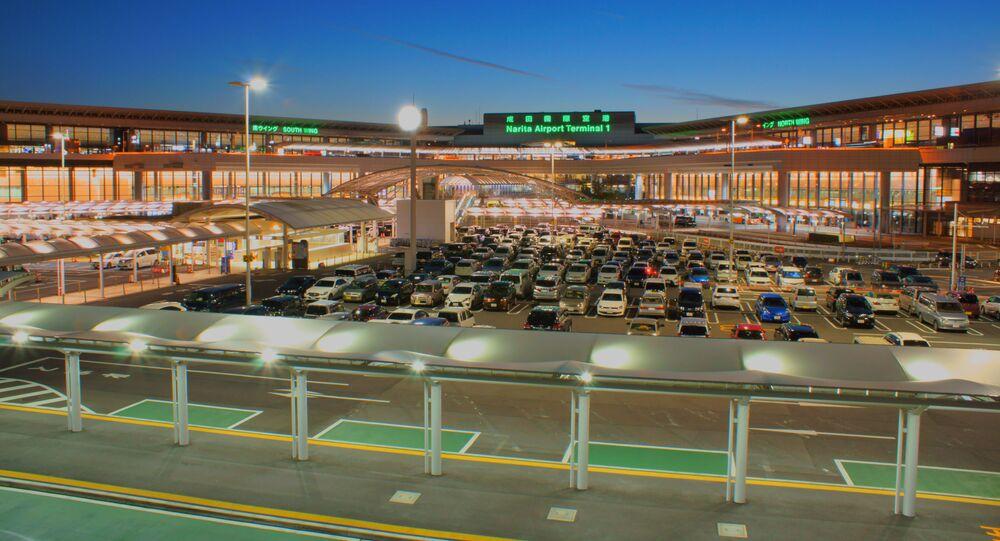Letiště Narita v Japonsku