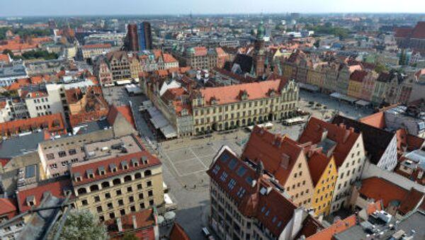 Panorama Wrocławia - Sputnik Česká republika