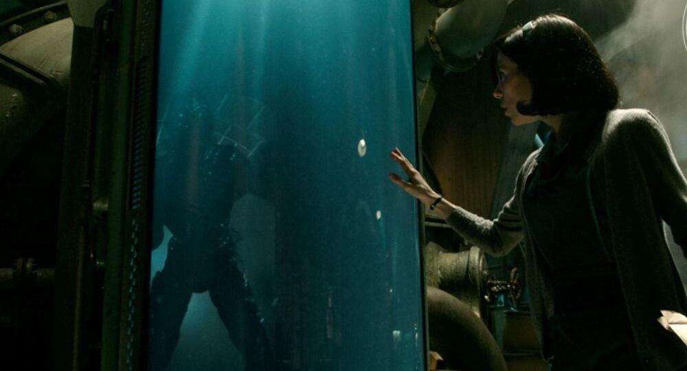 Záběr z filmu Tvář vody