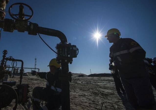 Těžba ropy na Jamalu