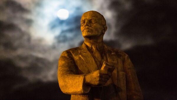 Leninův pomník. Ilustrační foto - Sputnik Česká republika