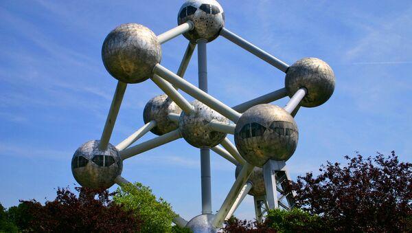 Atomium v Belgii - Sputnik Česká republika