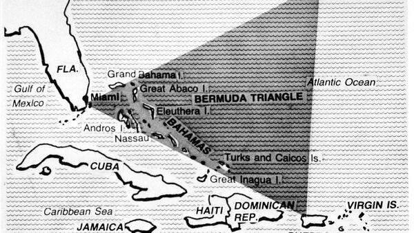 Bermudský trojúhelník na mapě 1979 - Sputnik Česká republika