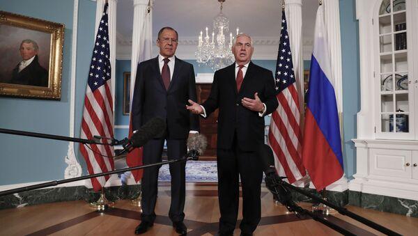 Sergey Lavrov a Rex Tillerson. Ilustrační foto - Sputnik Česká republika