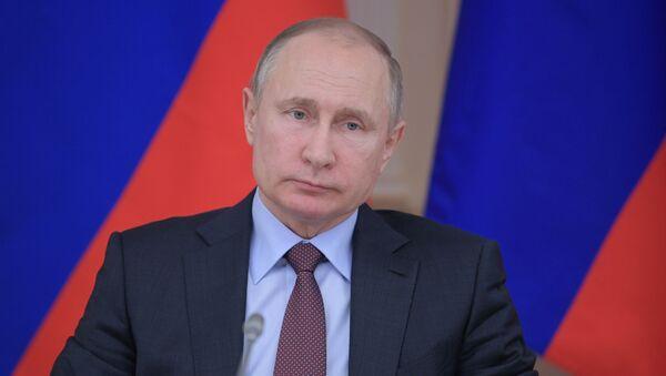 Ruský prezident Vladimir Putin - Sputnik Česká republika
