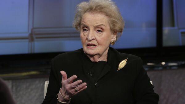 Madeleine Albrightová - Sputnik Česká republika