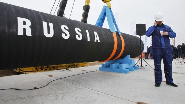 Stavba Severního proudu - Sputnik Česká republika