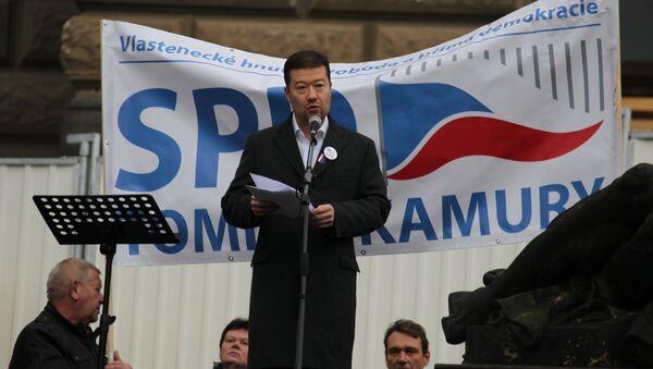 Tomio Okamura - Sputnik Česká republika