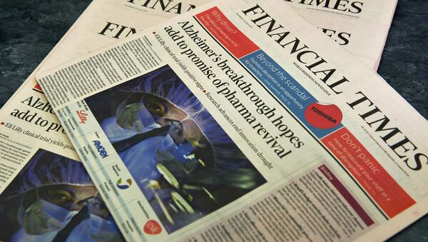 Financial Times - Sputnik Česká republika